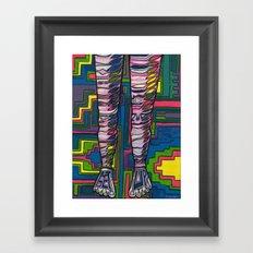 GET UP! Framed Art Print