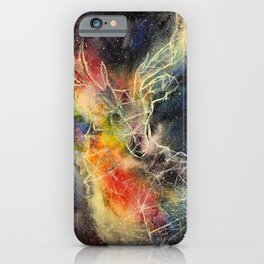 Deer constellation iPhone Case