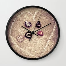 The Five of Us Wall Clock