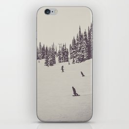 Whistler Snowboarders iPhone Skin