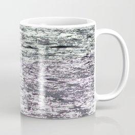 Watercolor Landscape Ocean, Two-toned Wave Action, Nova Scotia, Canada Coffee Mug