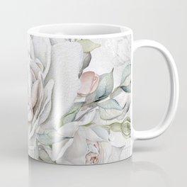 Faded Vintage Rose Coffee Mug