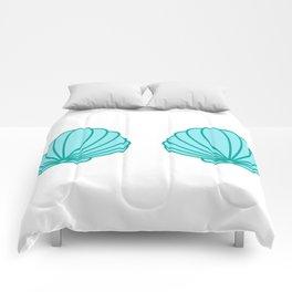 Mermaid Shell Bra Comforters