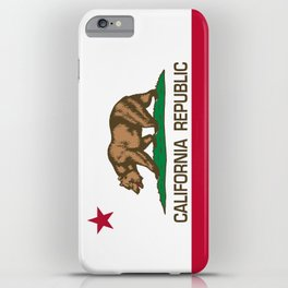 California Republic Flag - Bear Flag iPhone Case