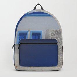 Santorini, Greece 7 Backpack