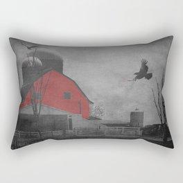 Rustic Red Barn A659 Rectangular Pillow