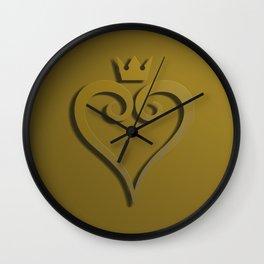 Kingdom hearts logo Wall Clock