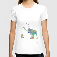 olaf T-shirts featuring Olaf and Sven by AHDessins