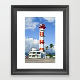 Ford Island Tower Framed Art Print