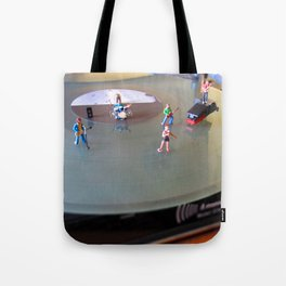 I wanna Rock and Roll all night  Tote Bag