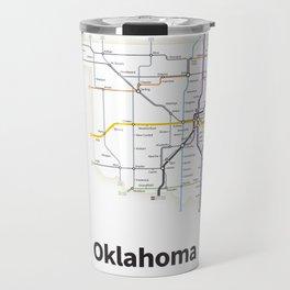 Highways of the USA – Oklahoma Travel Mug