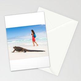 Galapagos wildlife beach Stationery Cards