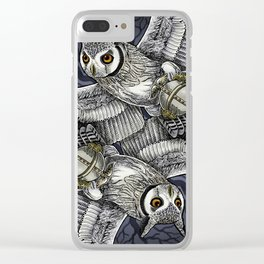 Owl Deck: Jack of Diamonds Clear iPhone Case