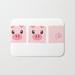 Piggy Delight Bath Mat