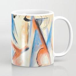 """Franz Marc """"Four foxes"""" Coffee Mug"""