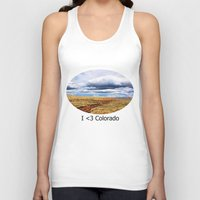 feet Tank Tops featuring 13,000 Feet by Chris Root