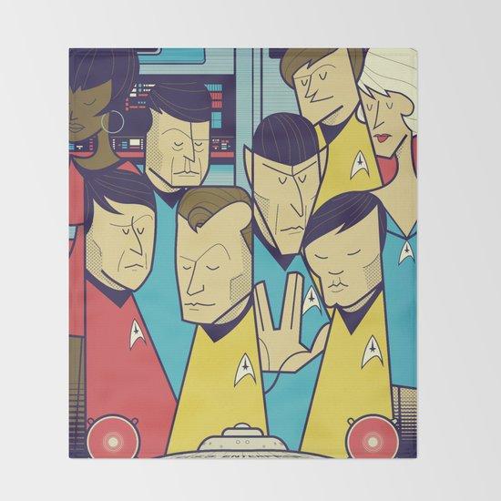 Star Trek Throw Blanket