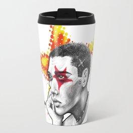 Punk star Travel Mug