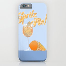 spritz me  iPhone Case