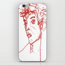inspired in Egon Schiele 02 iPhone Skin