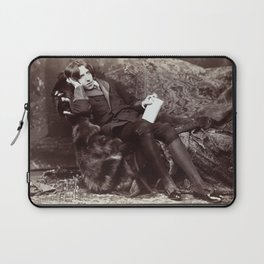 Portrait of Oscar Wilde (1882) Laptop Sleeve