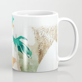Me + Monstera #painting #minimal Coffee Mug