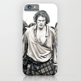 Culloden (Outlander) Original artwork iPhone Case