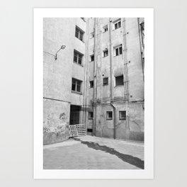 Beauty of Barcelona Art Print