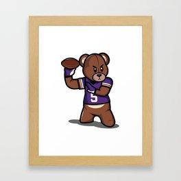The Victrs - Teddy Football Framed Art Print