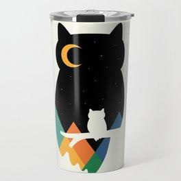 Eye On Owl Travel Mug