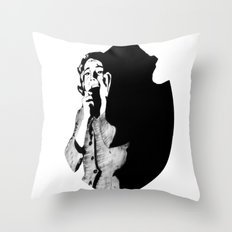 Lila Crane Throw Pillow