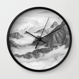 Heaven Is Here Wall Clock