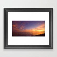 Jurassic Coast Sky Framed Art Print