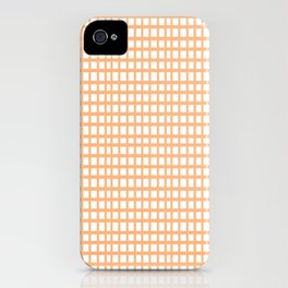 LINES in APRICOT iPhone Case