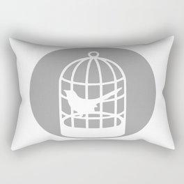 =Birdcage= Rectangular Pillow