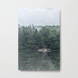 Lakeside Morning Metal Print
