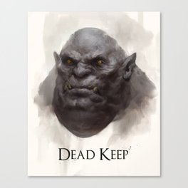 Dead Keep - Troll Canvas Print