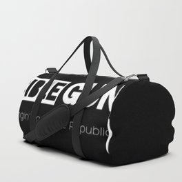 HANGIN' ON FOR THE REPUBLIC2 Duffle Bag