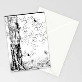 Hangin' Loose & Swingin' on Life Stationery Cards
