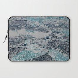 Bering Sea Ice Laptop Sleeve