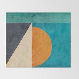 Regata al Tramonto Throw Blanket