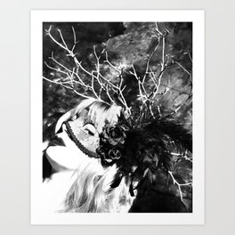 A Dark Paradise Art Print