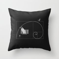 Close To Perfect Throw Pillow