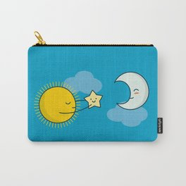 Sun and Moon - Cute Doodles Carry-All Pouch