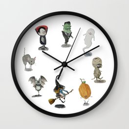 The Spooky Bunch Wall Clock