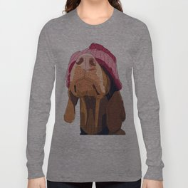 Hipster Vizsla Long Sleeve T-shirt