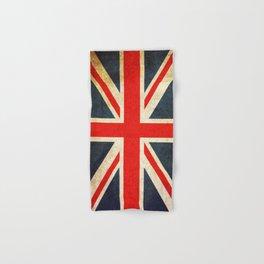 Vintage Union Jack British Flag Hand & Bath Towel