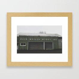 Reid Boiler Works II Framed Art Print