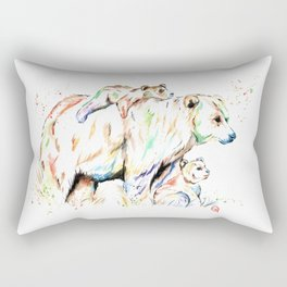 Bear Family - and then there were 3 Rectangular Pillow