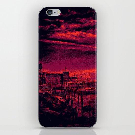 Sunset Over Bristol Harbor 3 iPhone & iPod Skin
